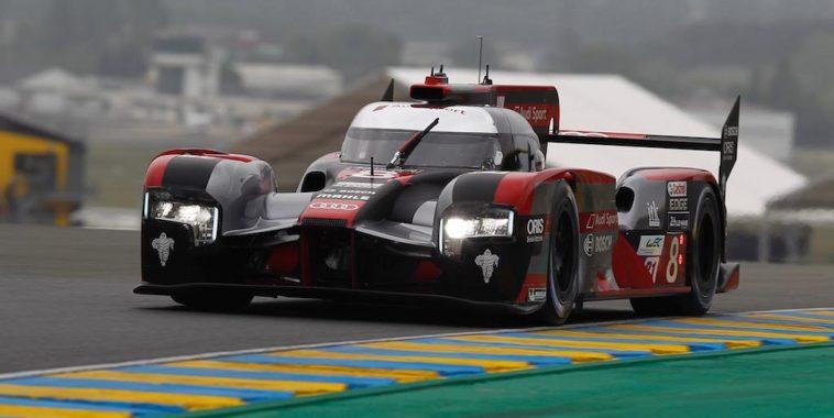 Audi Devance Les Deux Porsche Aux Essais Preliminaires Des