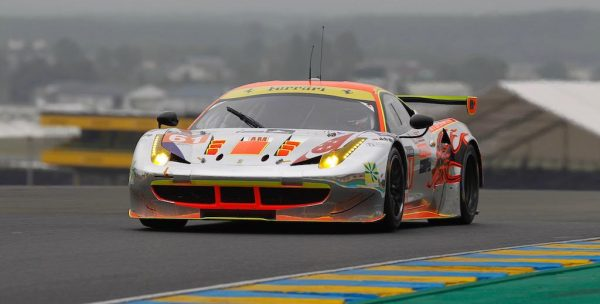 Essais-24-Heures-du-Mans-2016-FERRARI-N°61-Photo-Thierry-COULIBALY-