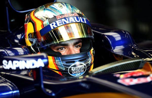 F1 2016 - Carlos-SAINZ pilote TORO ROSSO
