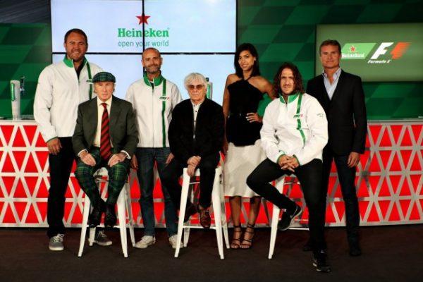 HEINEKEN ANNONC A MONTREAL E SON ARRIVEE COMME SPONSOR MAJEUR DE LA F1.