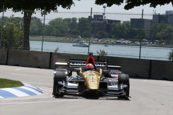 INDYCAR 2016 DETROIT - JAMES HINCHCLIFFE