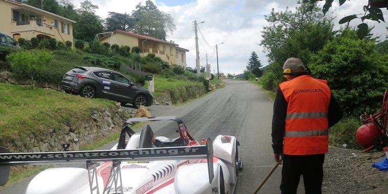 MONTAGNE 2016  MARCHAMPT  Nicolas SCHATZ au depart