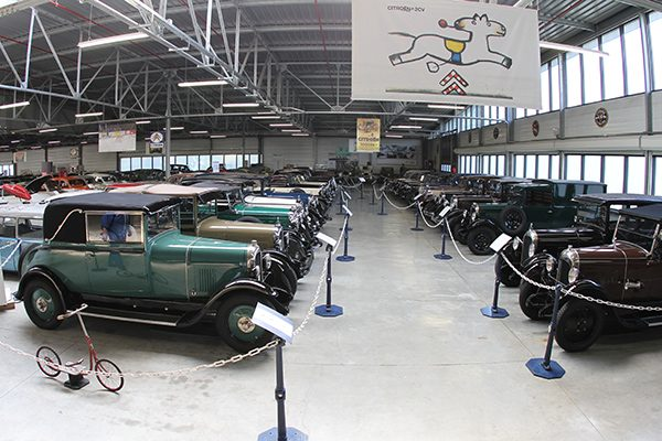 MUSEE CITROEN -les 1ERES CITROEN- Photo Gilles VITRY.