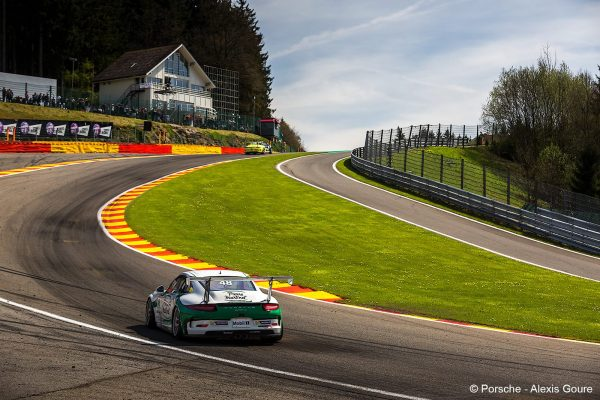 PORSCHE CUP 2016 - SPA -MATHIEU JAMINET.