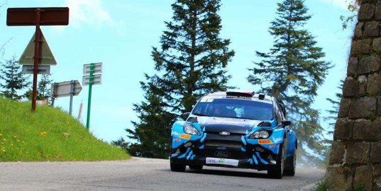Rallye d'Antibes 2016 - David SALANON - FORD Fiesta WRC  - Photo Jean-François THIRY