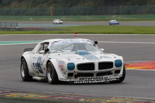 SPA-SUMMER-CLASSIC-Le-suisse-Bolliger-Pontiac-Transam-vainqueur-en-YTCC-©Manfred-GIET.