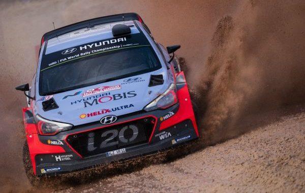 WRC 2016 SARDAIGNE - HYUNDAI i20 WRC  Thierry NEUVILLE