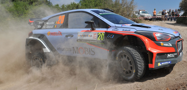 WRC 2016 SARDAIGNE - HYUNDAI i20 WRC de HIERRY NEUVILLE
