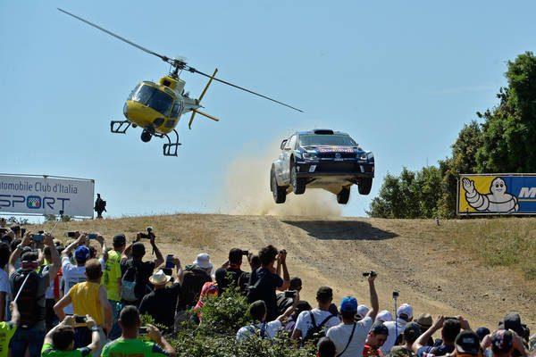 WRC 2016 SARDAIGNE- La POLO WRC de jari Matti LATVALA