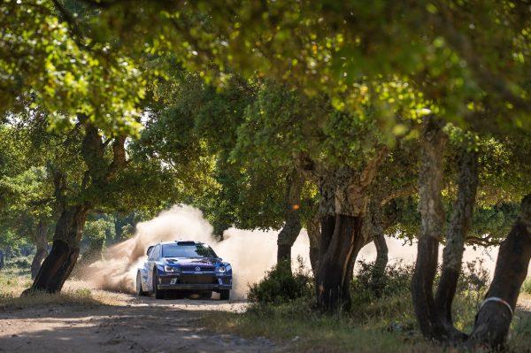 WRC 2016 SARDAIGNE- La POLO WRC de SEBASTIEN OGIER