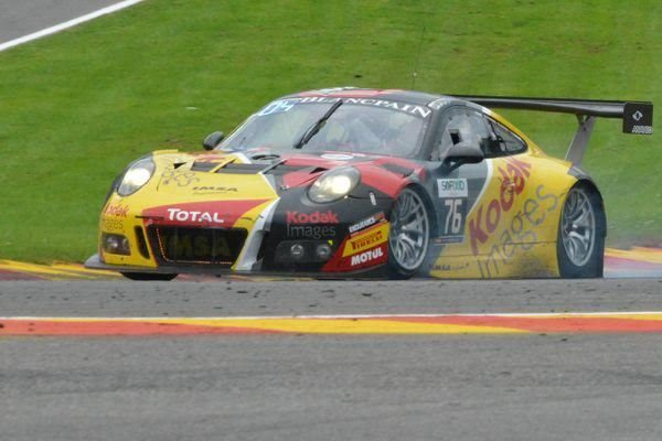 24 HEURES de SPA 2016 - La PORSCHE du Team IMSA - Photo Nicomlas PALUDETTO
