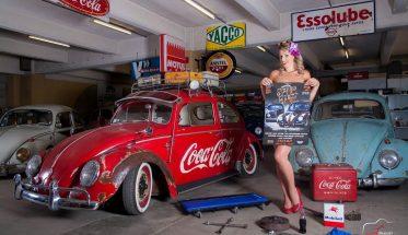 Alysson l'ambassadrice du festival VW au Mans - Photo Ludovic DRUGUET
