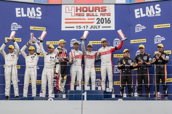ELMS-2016-RED-BULL-RING-Le-podium-avec-le-pilotes-THIRIET-sur-la-plus-haute-marche-le-17-juillet