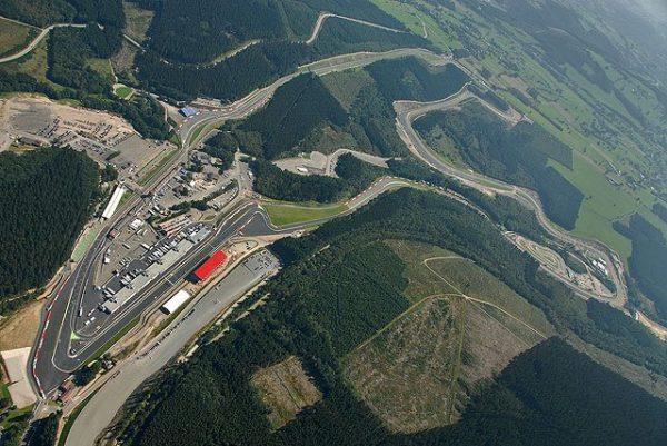 F1 2014 SPA le circuit de FRANCORCHAMPS - Vue aerienne
