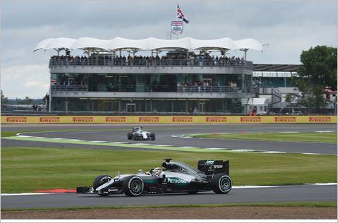 F1 2016 BRITISG GP La MERCEDES d'HAMILTON --