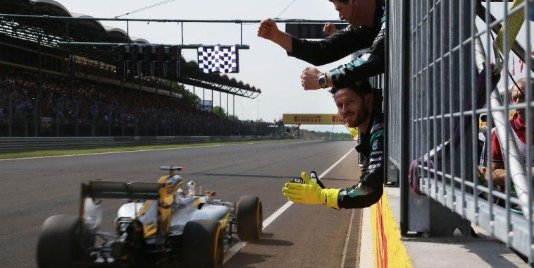F1 2016 BUDAPEST - Victoire pour la MERCEDES de LEWIS HAMILTON