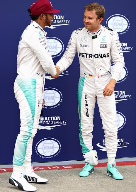 F1-2016-HAMILTON et ROSBERG resteront équipiers jusqu'en 2018