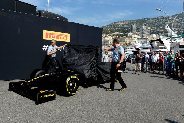 F1 2016 MONACO PIRELLI revele les pneumatiques 2017 -