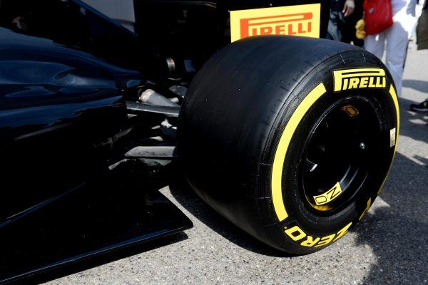 F1 2016 MONACO PIRELLI revele les pneumatiques 2017