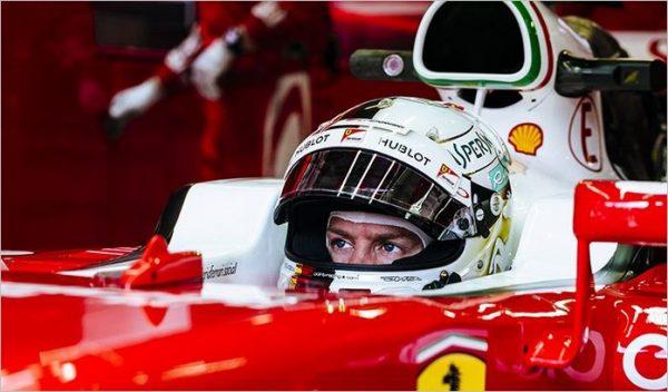 F1 2016 RED BULL RING SEBASTIEN VETTEL FERRARI.