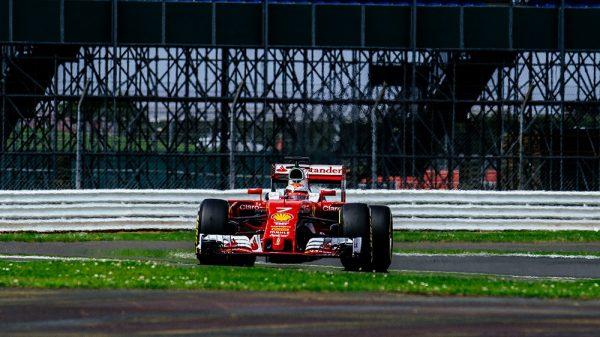 F1-2016-SILVERSTONE-Test-Mercredi-13-Juillet-KIMI-RAIKKONEN-et-FERRARI-LES-PLUS-VITES