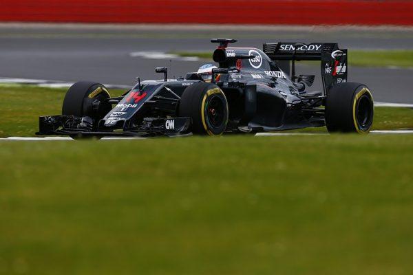 F1 2016 SOLVERSTONE TEST Mardi 12 Juillet - La McLAREN de FERNANDO ALONSO