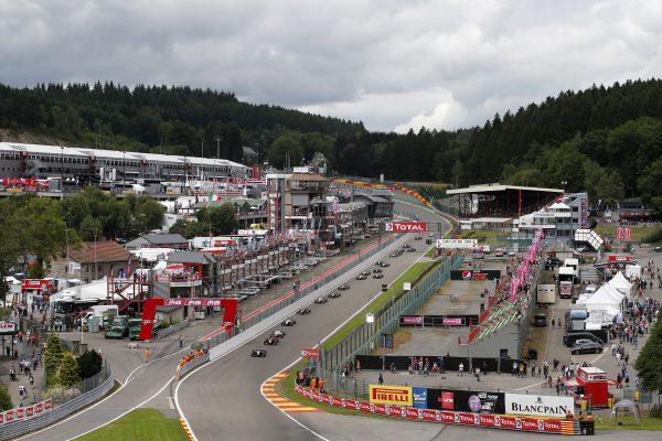 F3 2016 SPA le depart samedi 30 juillet de la 3éme COURSE