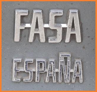 FASA ESPAGNE