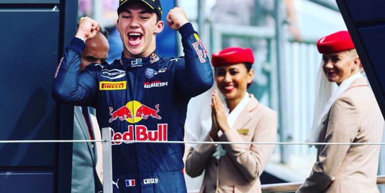 GP2 2016 Victoire ce samedi 23 juillet de PIERRE GASLY au HUNGARORING.