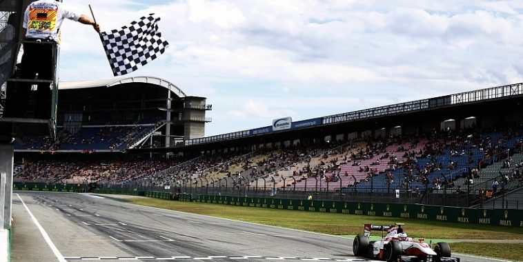 GP2 SERIES 2016 - HOCKENHEIM - SERGEY SIROTKIN remporte la 1ére course ce samedi 30 juillet