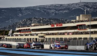 GT TOUR 2015 - PAUL RICARD - 25 ictobre - La PORSCHE du Team IMSA PERFORMANCE -------