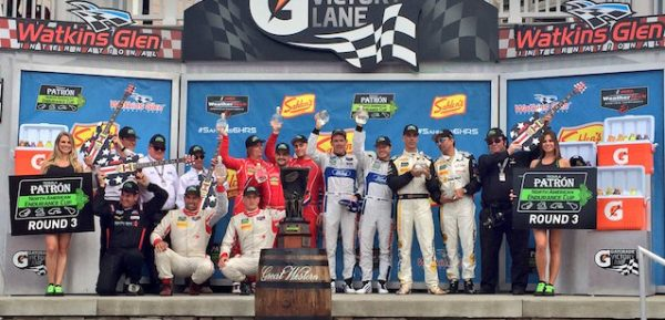 IMSA-WEATHER-2016-WATKINS-GLEN-Le-podium-le-3-juillet