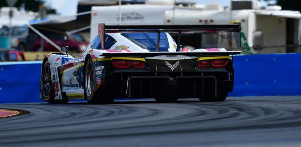 IMSA WEATHER 2016 WATLINS GLEN Vicroire de la CORVETTE DP de BARBOSA FITTIPALDI.