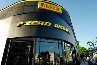 PIRELLI P ZERO WORLD A LOS ANGELES