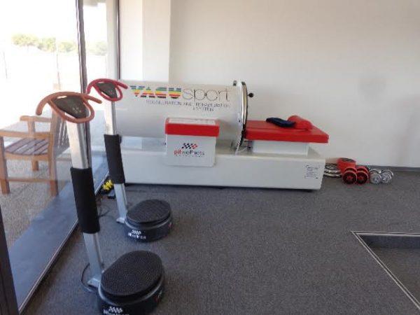 PITWELLNESS Circuit Paul RICARD Salle de régénération rapide