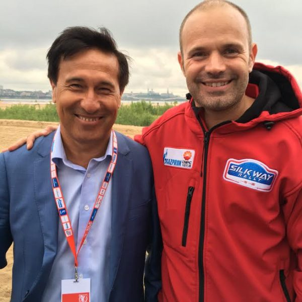 SILK WAY RALLY 2016 - FIRDAUS KABIROV et FRED LEQUIEN - Photo Autonewsinfo.