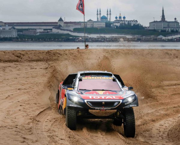 SILK WAY RALLY 2016 KAZAN Victoire de la PEUGEOT 2008 DKR de PETERHANSEL-COTTRET