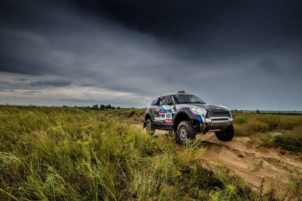 SILK WAY RALLY 2016 La MINI DE VASSiLYEV