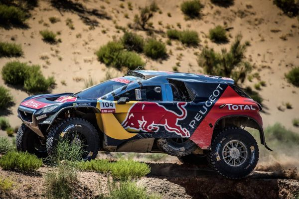 SILK WAY RALLY 2016 - Le 2008 DKR PEUGEOT de CYRIL DESPRES et DAVID CASTERA