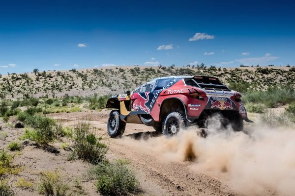 SILK WAY RALLY 2016 - Le 2008 DKR PEUGEOT de STEPHANE PETERHANSEL et JEAN PAUL COTTRET
