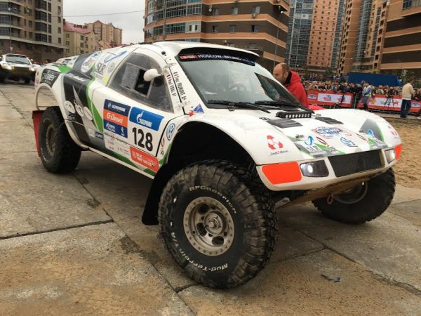 SILK WAY RALLY 2016 - Le Buggy TAREK de YVES FROMONT et PAUL VIDAL -Photo Autonewsinfo