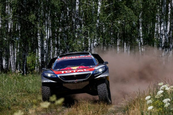 SILK WAY RALLY 2016 Le PEUGEOT 2008 DKR de DESPRES-CASTERA.