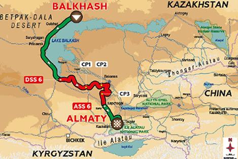 SILK-WAY-RALLY-2016-Le-parcours-entre-BELKHASH-et-ALMATY