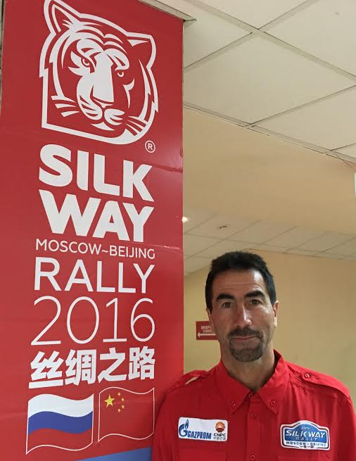 SILK WAY RALLY 2016 - MOSCOU 5 Juillet- Luc ALPHAND Photo : autonewsinfo