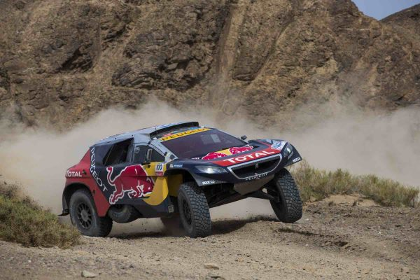 SILK WAY RALLY 20216 le 2008 DKR PEUGEOT de STEPHANE PETERHANSEL et JEAN PAUL COTTRET