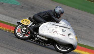 SPA-BIKERS-CLASSIC-2016-La-NSU-Sportmax-250-de-1955-véritable-pièce-de-musée©-Manfred-GIET-