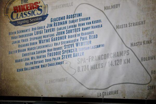 SPA BIKERS CLASSIC 2016 - La liste des stars qui ont participé aux Bikers'Classics depuis 14 ans-© Manfred GIET.