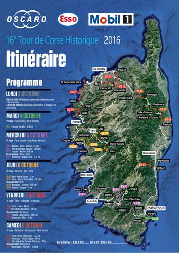 TOUR DE CORSE HISTORIQUE 2016