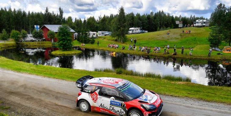 WRC 2016  FINLANDE   La DS3 CITROEN de KRIS MEEKE  - -- --