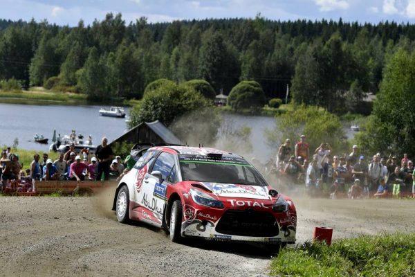 WRC 2016 FINLANDE La DS3 CITROEN de MEEKE